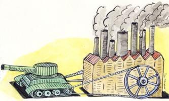 Andrzej Krauze: Pollution and War