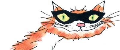 Arthur Robins's felonious feline Macavity