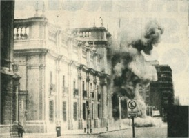 Junta bombing of La Moneda 1973-09-11
