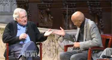 Noam Chomsky and Harry Belafonte