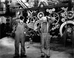 Charles Chaplin in Modern Times