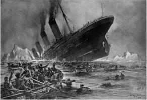 Willy Stöwer: Untergang der Titanic