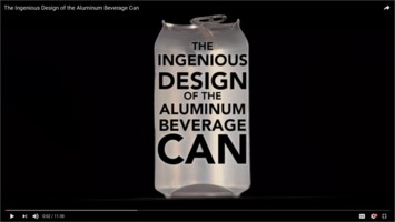 Beverage can video