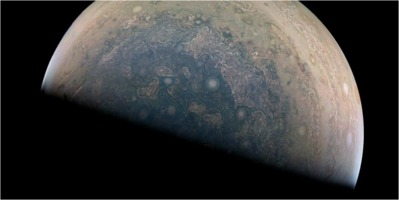 Phil Plait: Jupiter's south pole, by Juno