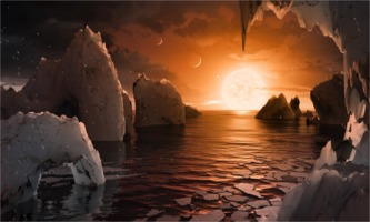 Trappist-1 illustration