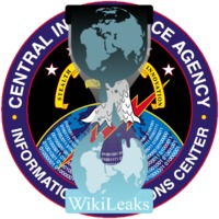 WikiLeaks over CIA Information Operations Center logos