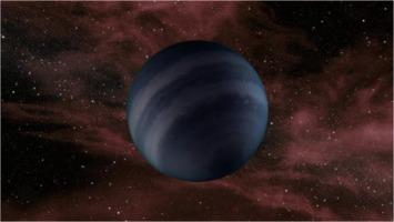 Black dwarf star