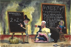 Martin Rowson on the cost of UK foreign policy – cartoon