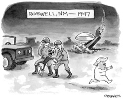Pat Byrnes: Roswell 1947