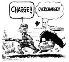 War profiteering