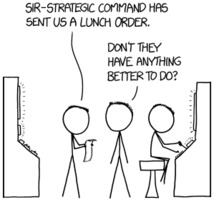 Randall Munroe: xkcd 1834: lunch order