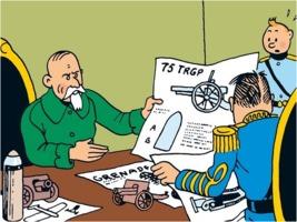 Basil Zaharoff in Tintin
