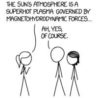 Randall Munroe: xkcd 1851: Magnetohydrodynamics