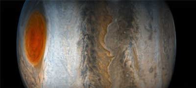 Great Red Spot on 2017-07-11, by Juno