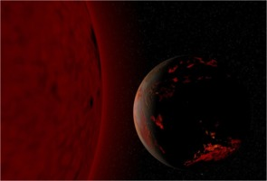Red Giant Sun and Scorched Earth