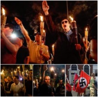 American Nazi faces of hate