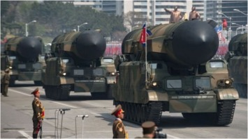 North-Korean ballistic missiles