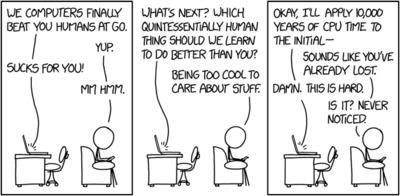 Randall Munroe: xkcd 1875: computers vs. humans