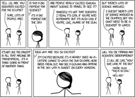 Randall Munroe: xkcd 1877: Eclipse science