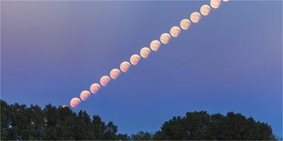 2017-08-07 Lunar Eclipse at ESO Garching