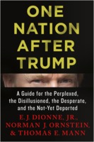 E. J. Dionne, Jr., Norman J. Ornstein, and Thomas E. Mann: One Nation After Trump - A Guide for the Perplexed, the Disillusioned, the Desperate, and the Not-Yet Deported