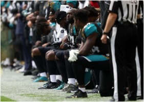 NFL players kneeling protest