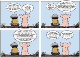 The Atheist Pig: Outspoken