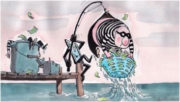 Claudio Munoz: Fishing money-launderers