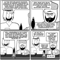 Jesus and Mo 2017-11-01: Arms