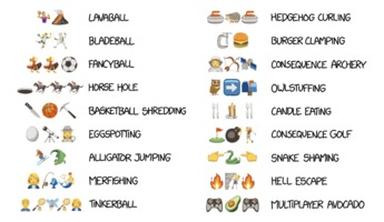 Randall Munroe: xkcd 1920: Emoji Sports