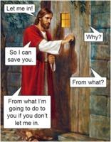 Jesus wants in