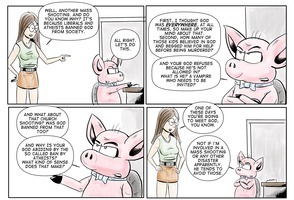 The Atheist Pig 96: You're banned