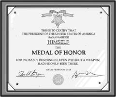 Ellis Rosen: Presidential Medal of Honor