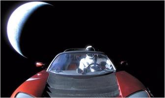 SpaceX Tesla Roadster Starman