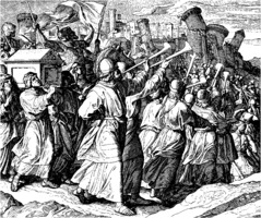 Julius Schnoor von Carolsfeld: Battle of Jericho