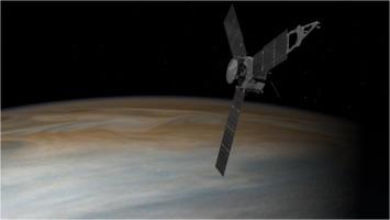 Juno spacecraft approaches Jupiter