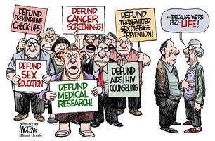 Jim Morin: Hypocrites