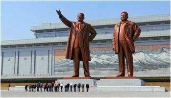 Kim-Il-Sung statue