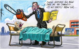 Dave Brown: Closing NHS Hospitals