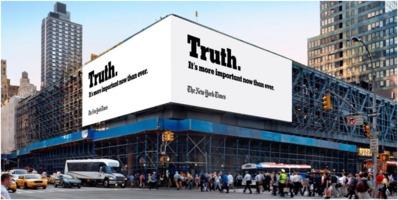 New York Times Truth PR