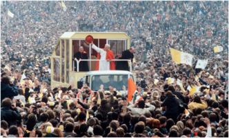 Pope John Paul II in Ireland