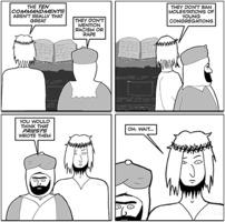 Jesus and Mo: 10Cs2