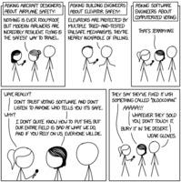 Randall Munroe: xkcd 2030: Voting Software