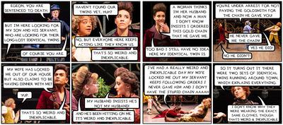 Mya Lixian Gosling: Stratford Festival Photo Comics (part 2): The Comedy of Errors