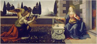Leonardo da Vinci: Annunciation