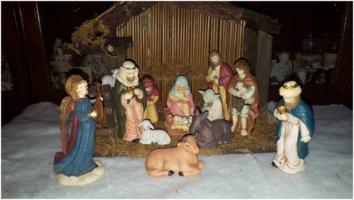 Yoda in the manger