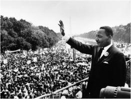 MLK at Lincoln Memorial