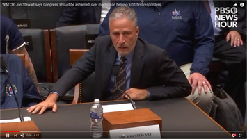 Jon Stewart for 9/11 first responders on 2019-06-11 before House committee