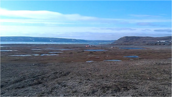 Mould Bay on Prince Patrick Island, NWT, Canada