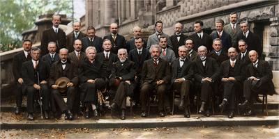 Solvay conference 1927 participants